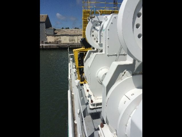 WINCHES FOR RESEARCH VESSELS